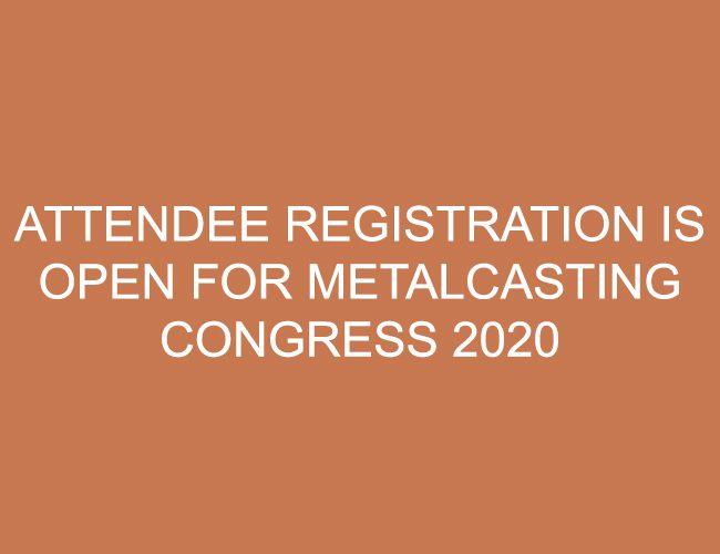 Metalcasting 2020