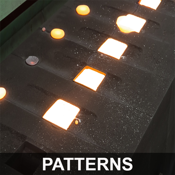 casting patterns at custom foundry services
